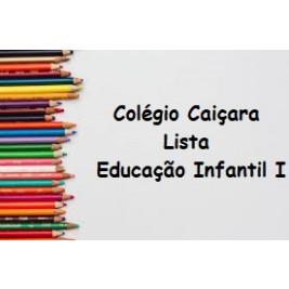 EDUCAÇÃO INFANTIL I