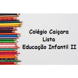 EDUCAÇÃO INFANTIL II